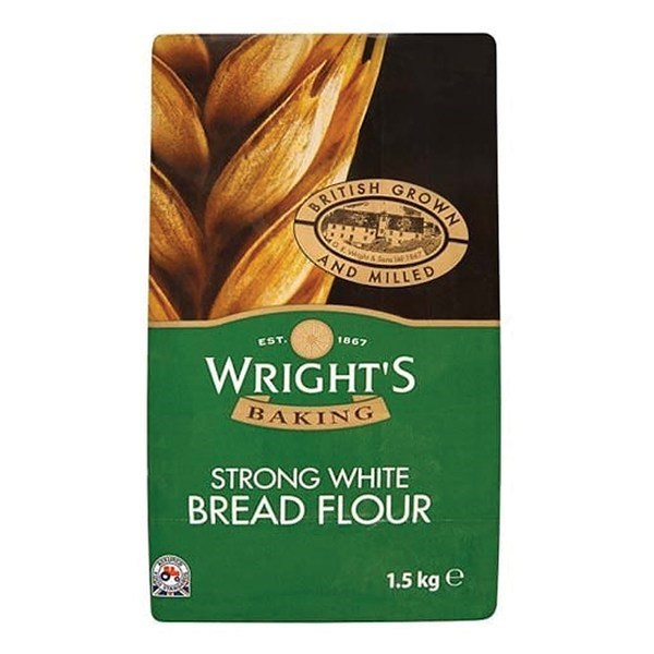 Wrights Bread Flour - 1.5kg - Single