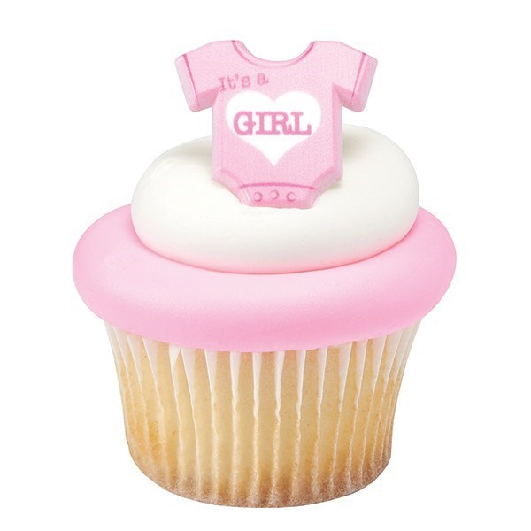 Onesie Its A Girl Ring