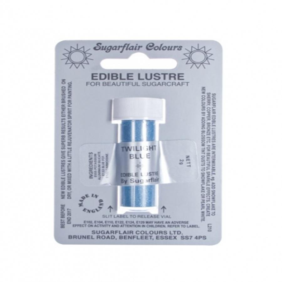 Sugarflair Edible Lustre Colour - Twilight Blue