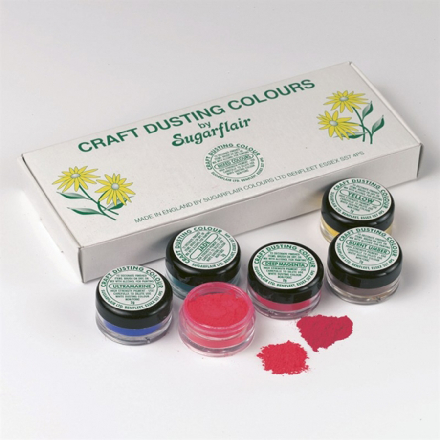 Craft Dust Colours (Assorted 10 Pack x 2g)