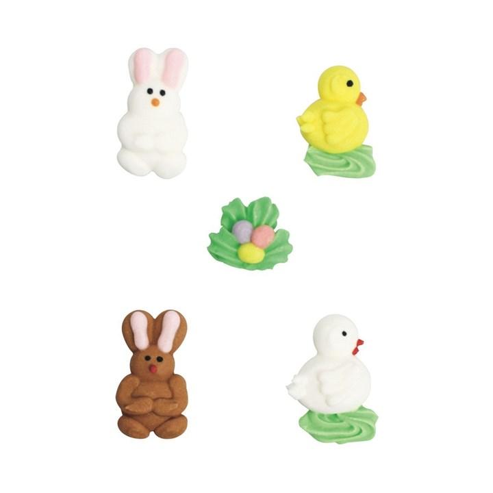 Rabbit And Chick Sugar Pipings