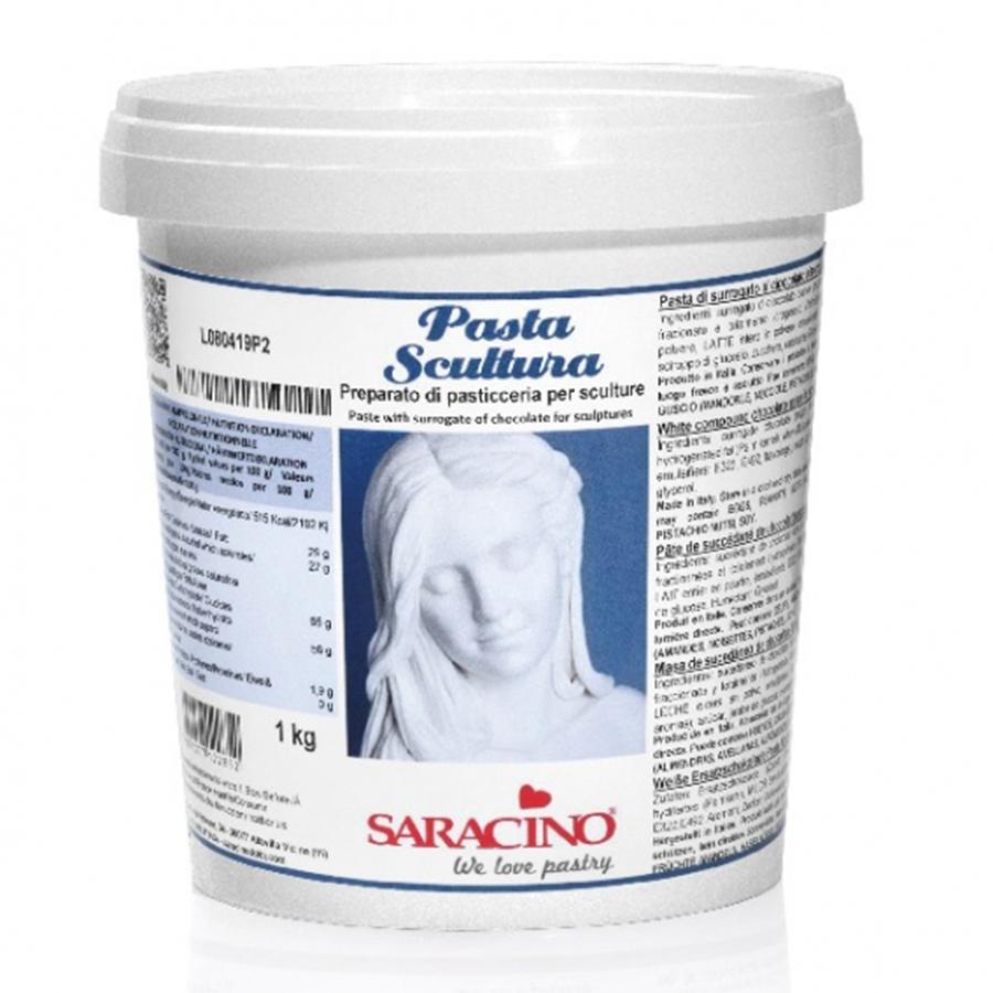 Saracino Deco Choc White Chocolate Sculpting Paste 6 x 1kg