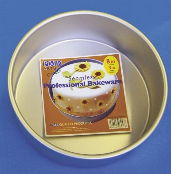 PME Seamless Professional Bakeware - Circle 304mm (12'')