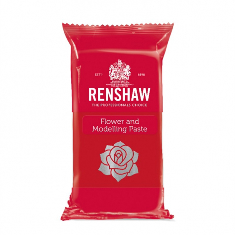 Flower and Modelling Paste - Carnation Red - 8 x 250g