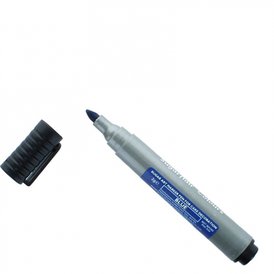 Sugarflair Edible Art Marker Pen - Blue