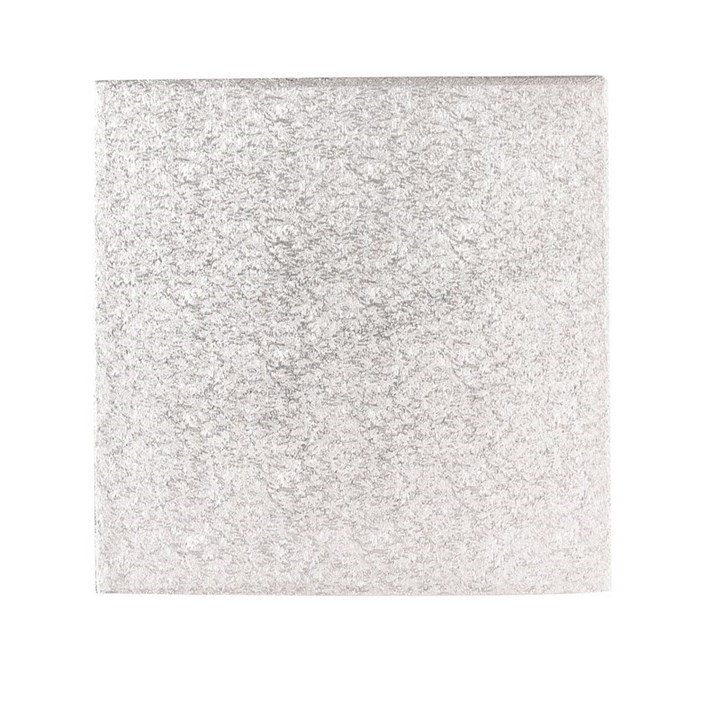 16'' (406mm) Hardboard Square Turn Edge Cards Silver Fern (3mm Thick) - Single