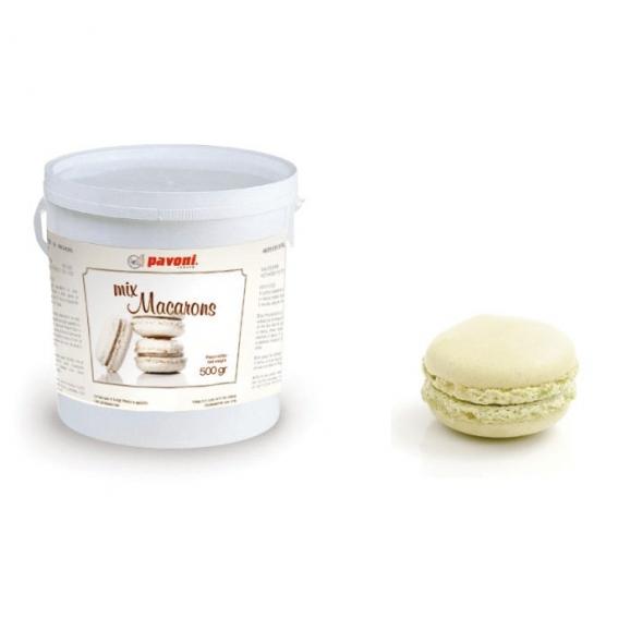 White Macaron Mix