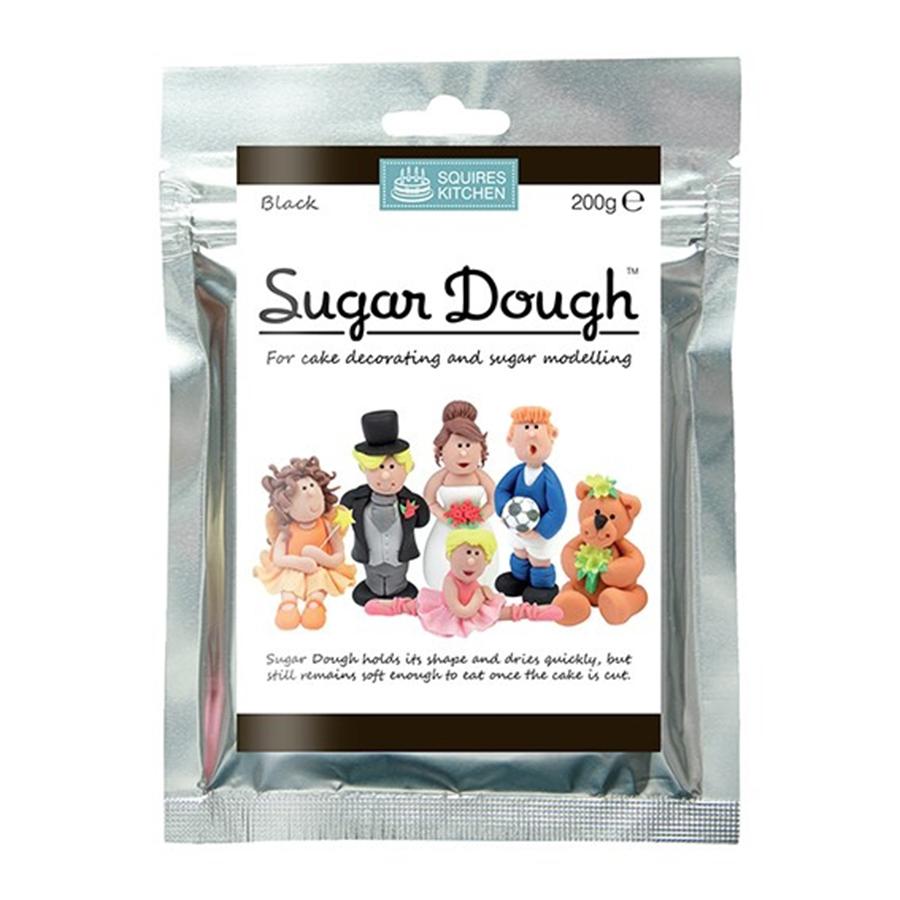 Squires Kitchen - Black Sugar Dough - 200g