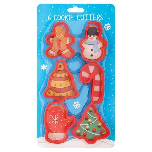 Festive Cookie Cutter Set - 6 Piece - Single