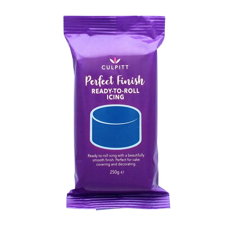Culpitt Perfect Finish Ready To Roll Icing - Navy Blue 250g - Single