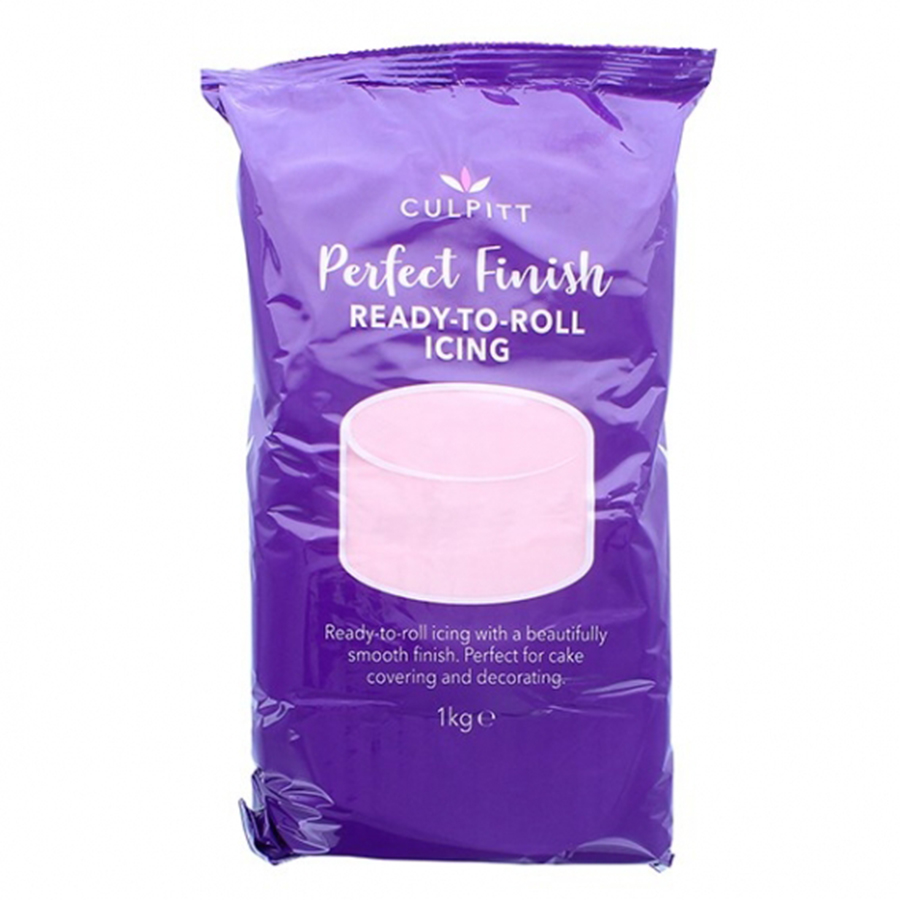 Culpitt Perfect Finish Ready to Roll Icing - Light Pink 6 x 1kg
