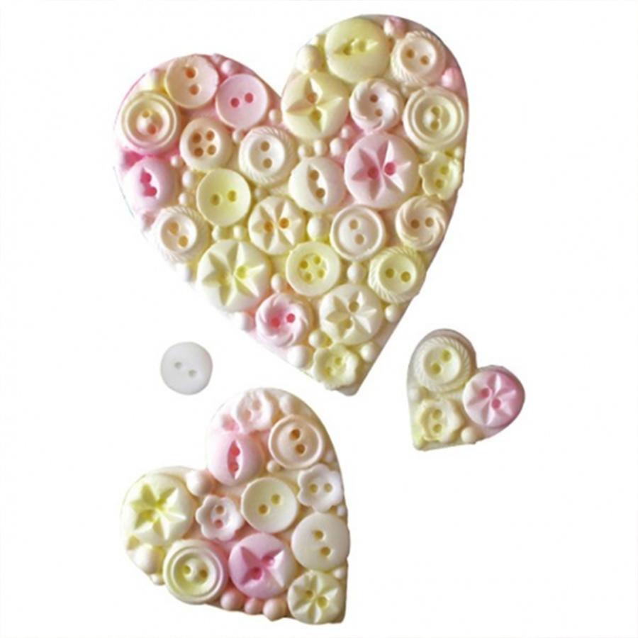 Katy Sue Mould - Button Heart