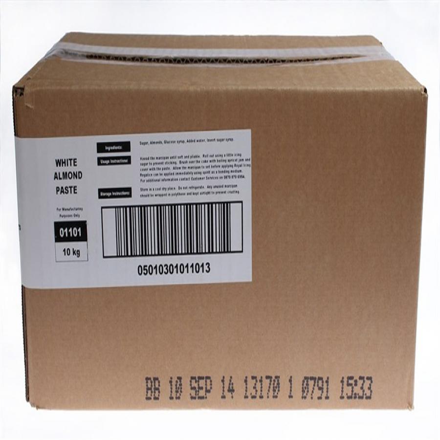 Renshaw - Marzipan - White - No Preservative - 1 x 10kg