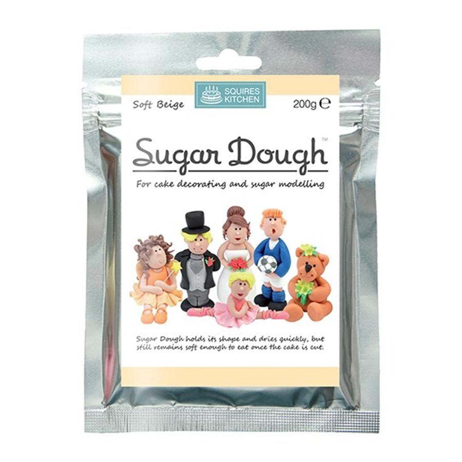 Squires Kitchen - Soft Beige Sugar Dough - 200g