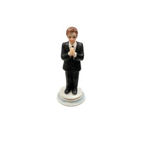 Communion Boy Figure Standing 9cm