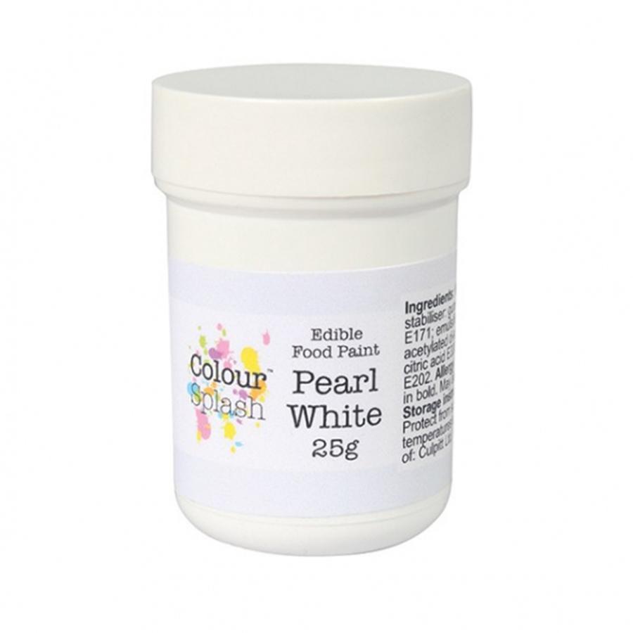 Colour Splash Edible Paint - Pearl White