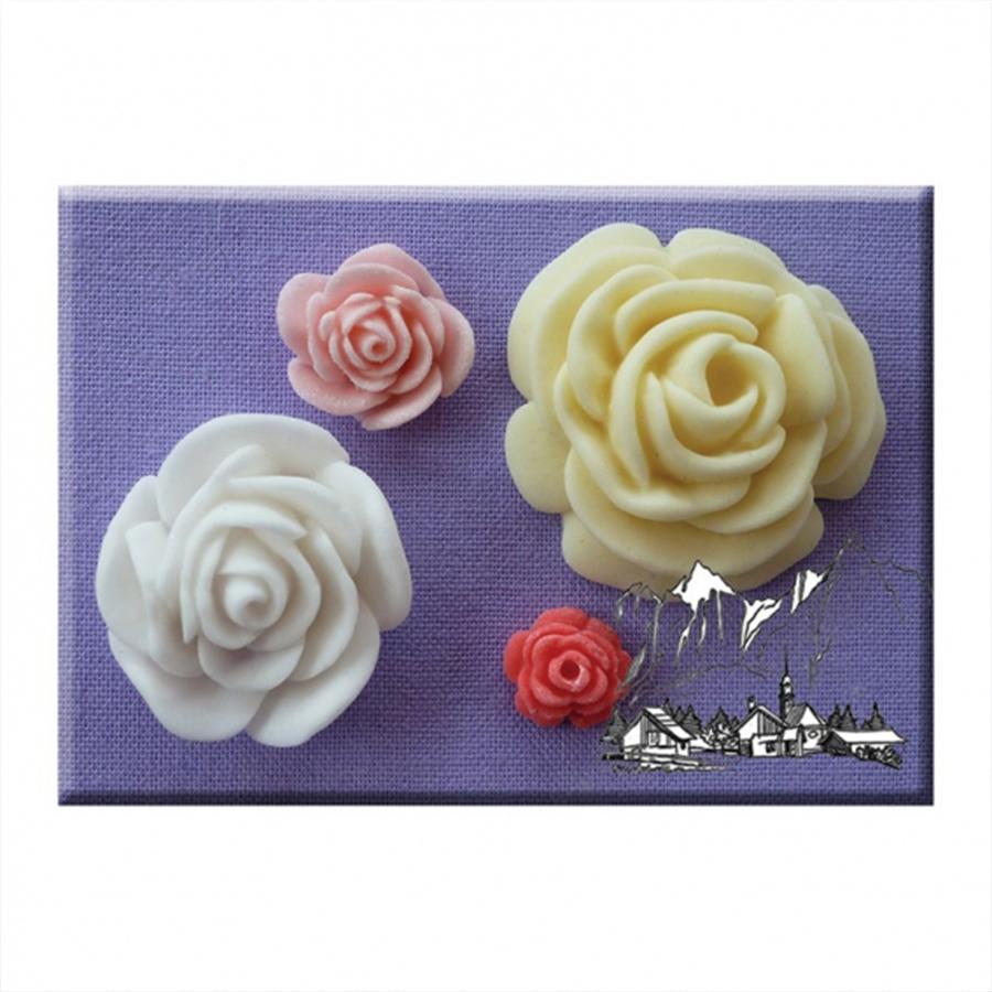 Alphabet Moulds - Roses
