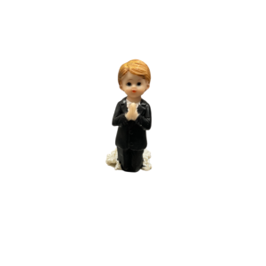 Communion Boy Knealing Figure 8.5cm