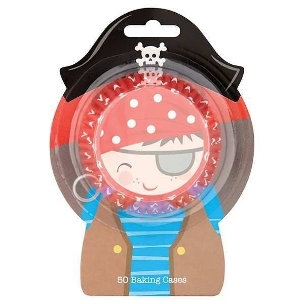 Pirate Baking Cases - Pack Of 50 - Single