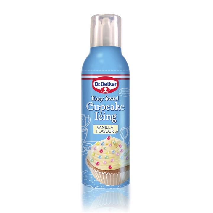 Dr. Oetker Easy Swirl Cupcake Icing - Vanilla - 180g - Single