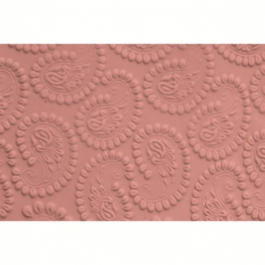FMM Embossed Rolling Pin - Small Paisley