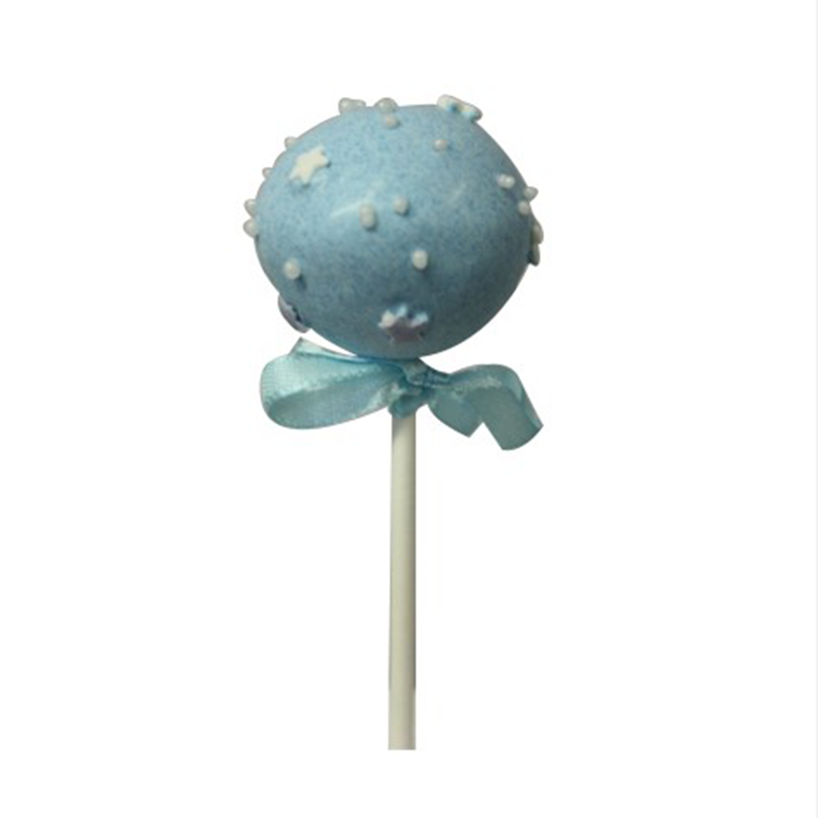 Christening Boy Cake Pop - Stars & Sprinkles