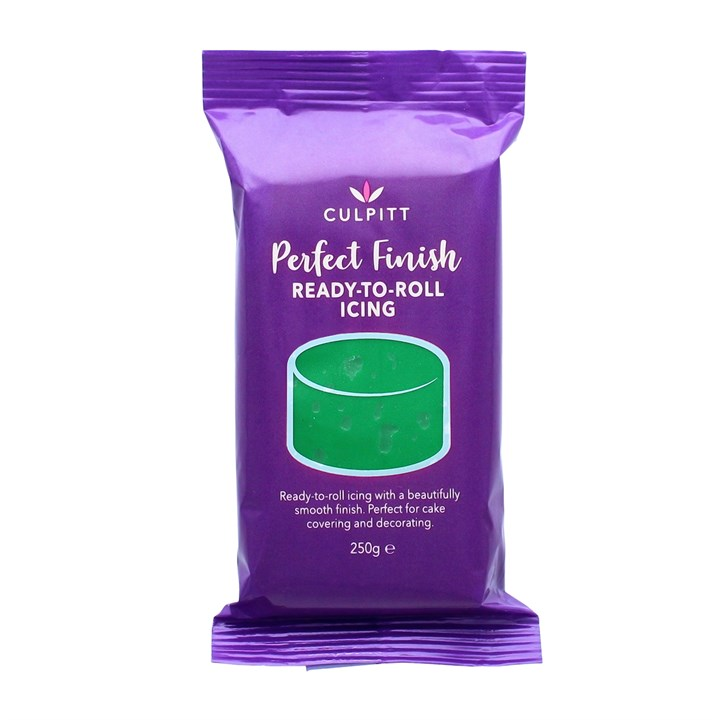 Culpitt Perfect Finish Ready To Roll Icing - Green 250g - Single