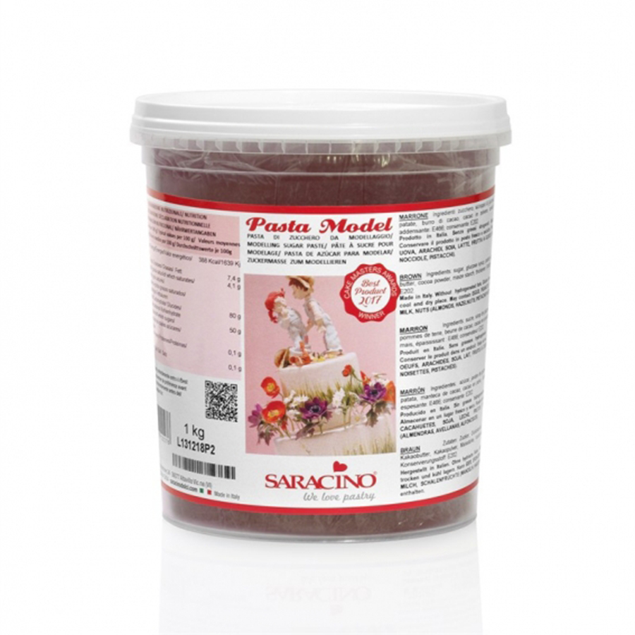 Saracino Modelling Paste - Brown - 1kg - single