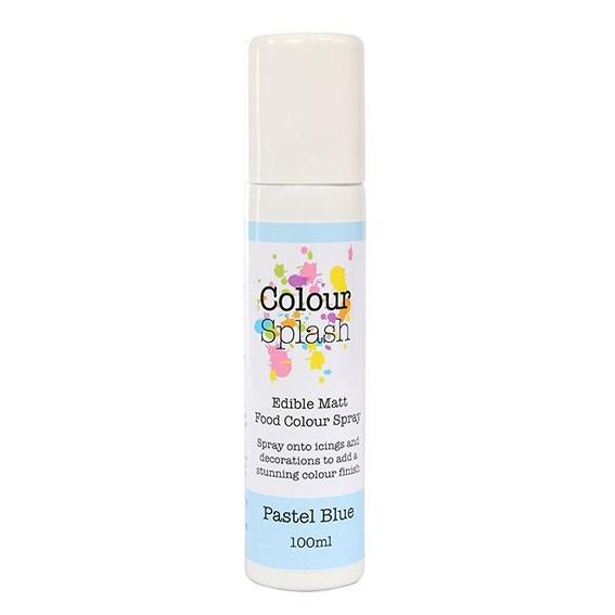 Colour Splash Edible Food Colour Spray Pastel Blue 100ml